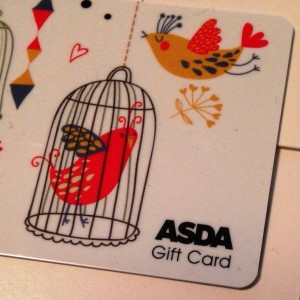 Photo of Asda gift card