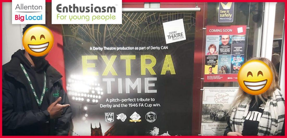 Enthusiasm trip to the theatre