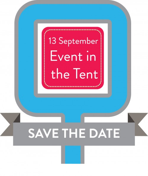 Save the Date - 13 September Event in the Tent